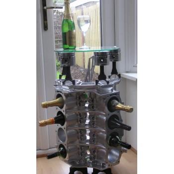 Weinregal Beistelltisch Couchtisch Tisch V8-Motorblock